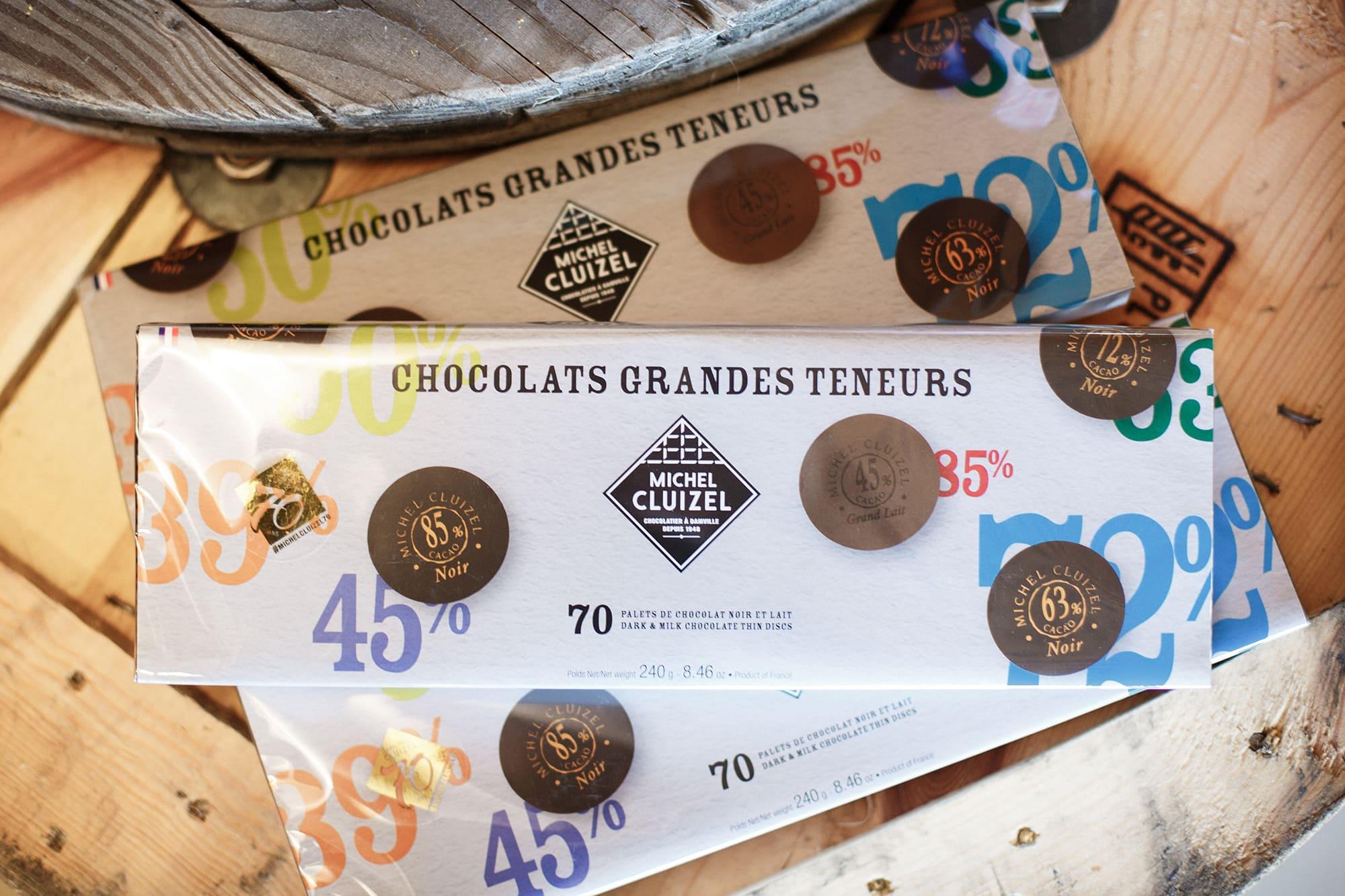 chocolat grandes teneurs michel cluizel